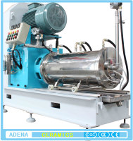 Horizontal sand mill/ball mill machine for paint and frit
