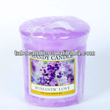 natural aromatherapy religious soy wax scented candle