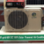 100% solar powered portable air conditioner, off-grid 48V DC solar air conditioner