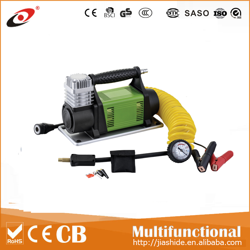 2017 new hot selling model mini dc 12v air compressor car tyre inflator