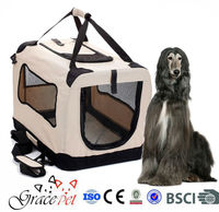fabric pet carrier bag / Traveling Dog Soft Crate