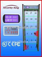 Security King Door Frame Metal Detector For Security XST-F18