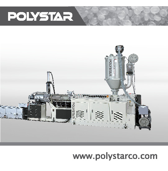 Waste material recycling & pelletizing equipment