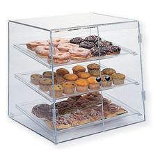 Custom Acrylic Bakery Display Cabinet Pastry Donut Display Case