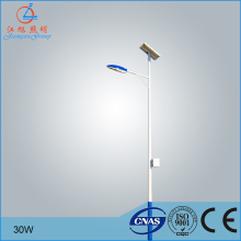 6m pole 30w solar street light project 15W