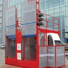 GUANGXI NTP Manufacturer 2 Tons double cage SC200/200 construction passenger hoist with good price