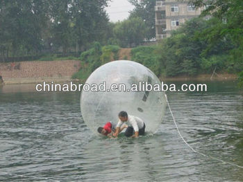 2012 TPU blowing up water balloon for walk on water(100% pure Tpu)