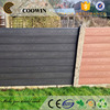 Outdoor construction material fence board wall panel