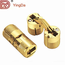 Hight quality invisible cylinder hinges/small folding hinges for table