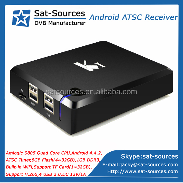 Android TV Box with ATSC Tuner for North America