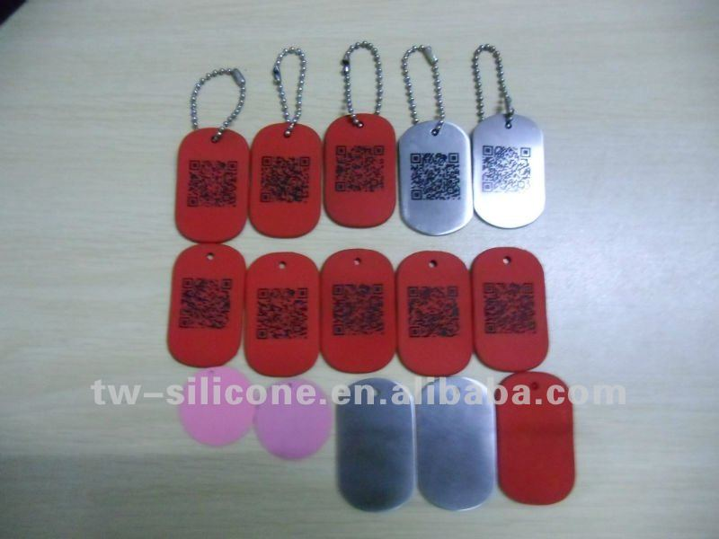 Hang tags for pets anti-lost cheap blank dog tags