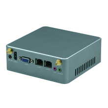 Core i3 i5 i7 Fanless X86 mini PC ultra low power 12V supporting Win10 Ubuntu 4K 1080P VGA HD-MI Intel HD Graphics 4000 Nano ITX