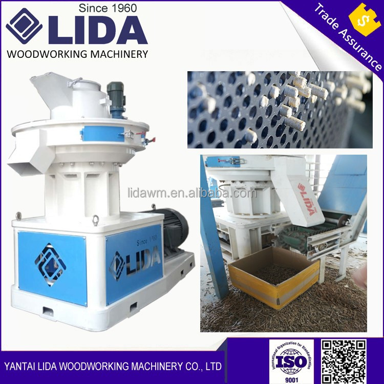 1.5ton/hour LIDA brand wood pellets fuel making machine LD560 for sale