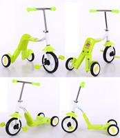 Multi-functional Baby Kick Scooter, Children Rickshaw