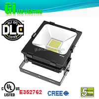 Top quality IP65 UL cUL (UL NO.E352762) DLC 200w color changing Flood light LED rgb