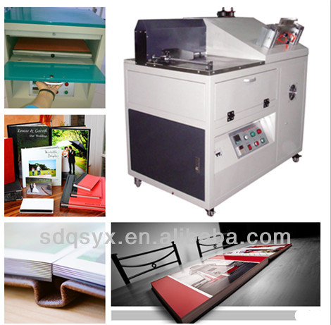 Hot Sales Photo album making machine--creasing,binding,pressing machine