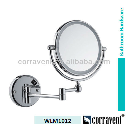 wall hanging LED light cosmetic mirror WLM1012
