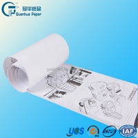 Direct Wholesale 210mm*4m children drawing bond paper roll