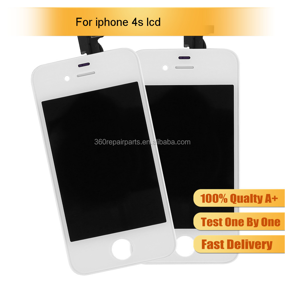 Factory Price Repair Parts Replacement With Digitizer Screen Display For Iphone 4S Lcd