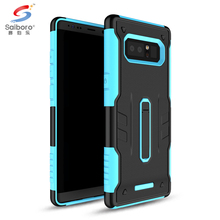 kickstand 2 in1 tpu pc phone case cover for samsung galaxy note 8 protector case