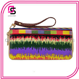Wholesales Newest Fashion PVC Colorful Pattern Wallet Clutch Bags