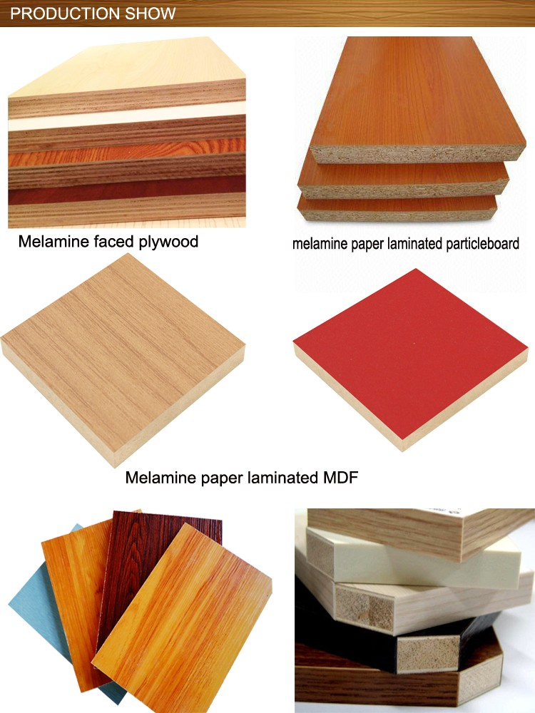 18mm Hot Sell Melamine faced Plywood, melamine blockboard