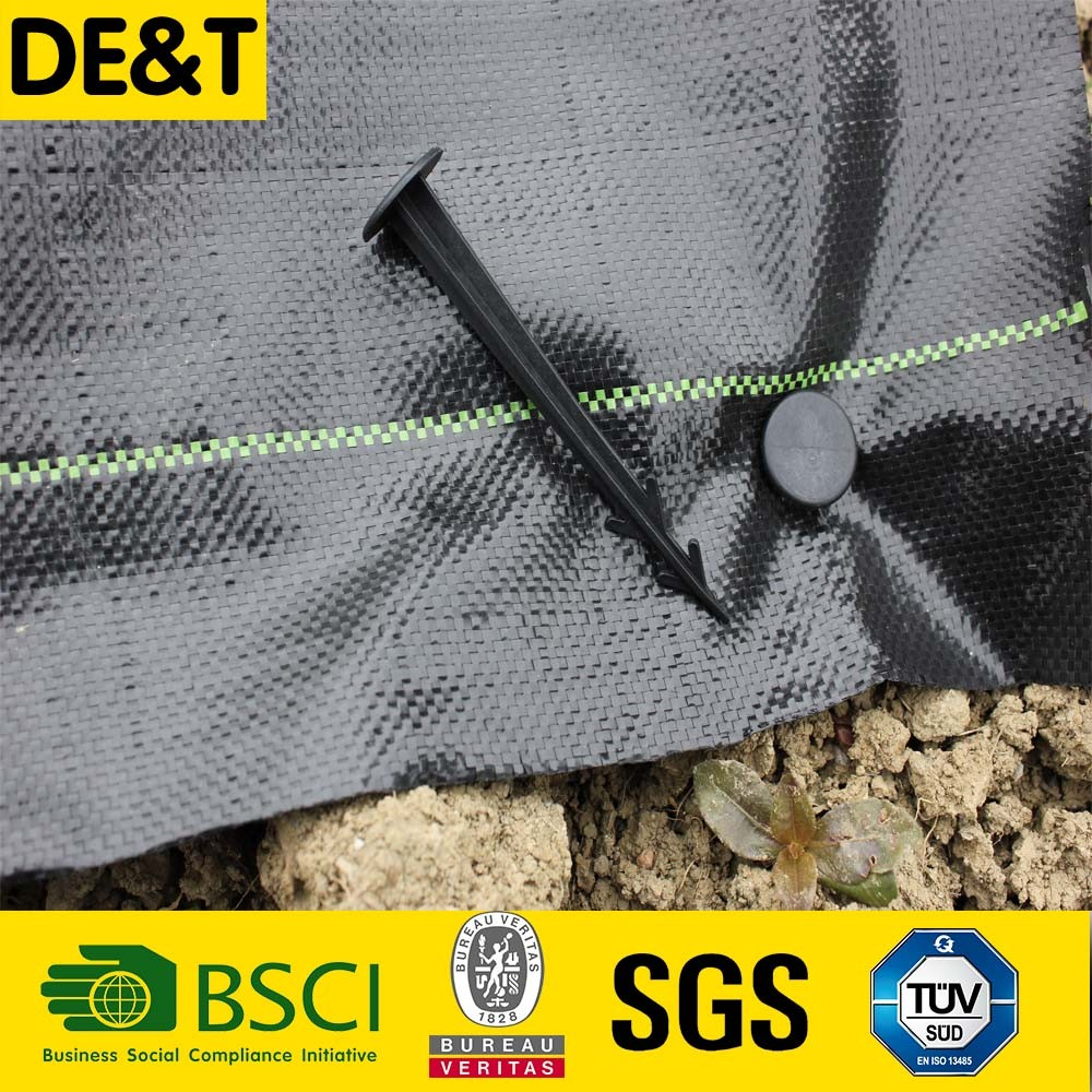 tree weed mat, pe weed control mat, gardening used non woven black