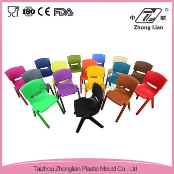 Manufacturer colorful durable cheap kids plastic chairs