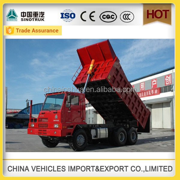 hot sale used sinotruk trucks mine work tipper for sale