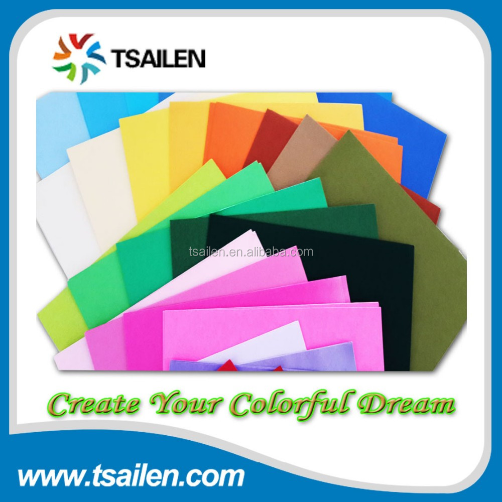 kids handwork color paper