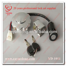 directly factory CG125 motorcycle parts lock set for honda dio part