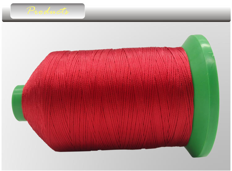 Factory price 100% high tenacity spun 210D/3 polyester coat sewing thread