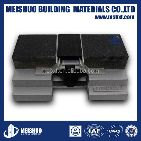 Rubber PVC Safety Floor Concrete Expansion Joint Filler Material