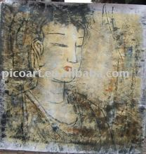 buddha painting,canvas oil painting