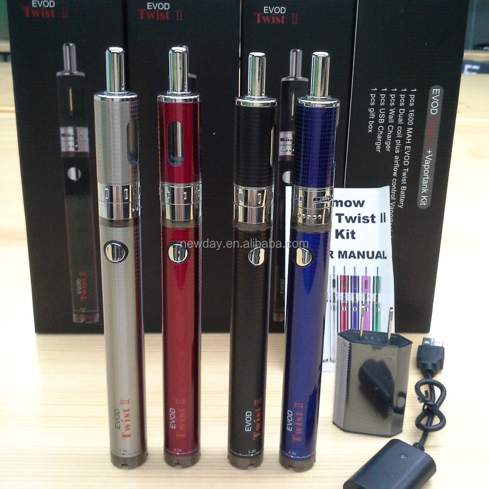 wholesale 1600mah evod twist 3 e shisha pen 500 puffs from NEWDAY