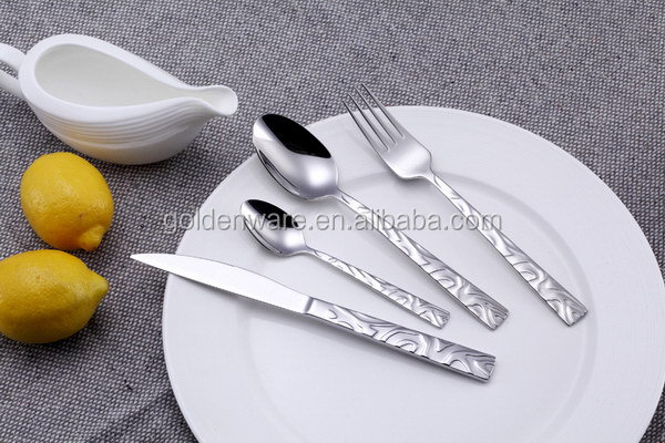 GW-G140 New Arrival Best-Selling stainless steel cutlery in plastic handle