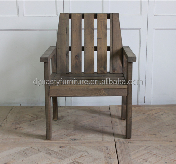 <strong>pine</strong> wood outdoor furniture garden arm dining chair