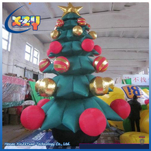 Durable Giant Christmas Xmas Decoration Inflatable Christmas Tree with star
