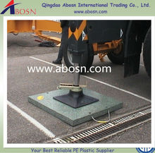 uhmwpe Outrigger pads and outrigger mats for cranes and working platforms