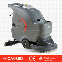 GM56BT 50 liter hand held small electric floor scrubber