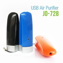 2017 New Computer Gadgets (USB Air Purifier with 3000000 pcs/cm3 Anions JO-728)