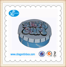 Factory direct sales mints use and tinplate metal type cute cigarette small metal tin boxes/cans