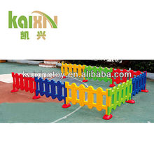 colorful kids plastic game fence