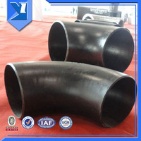 Stamping And Welding Carbon Steel Material Elbow Bend