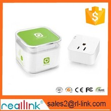 Reallink right angle electrical plug adapter,OEM design wifi smart plug