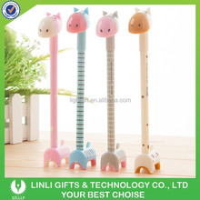 Soft Silicone Rubber Cute Animal Cartoon Ballpoint Pen,Rollerball Pen