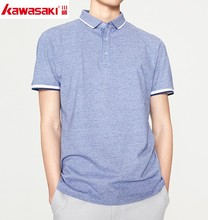 Casual clothes for daily custom fitness blank short sleeve man polo t-shirt