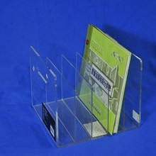 clear acrylic book holder, document rack wholesale office supplies