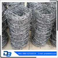 Wholesale alibaba cheap barbed wire price per roll,barbed wire weight per meter for sale