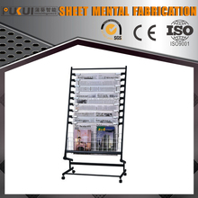 China Supplier Galvanized Sheet Metal Newspaper Display Stand